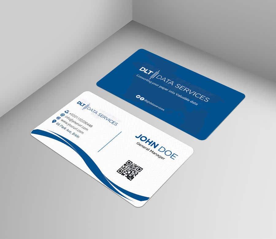 Kilpailutyö #639 kilpailussa Create business card