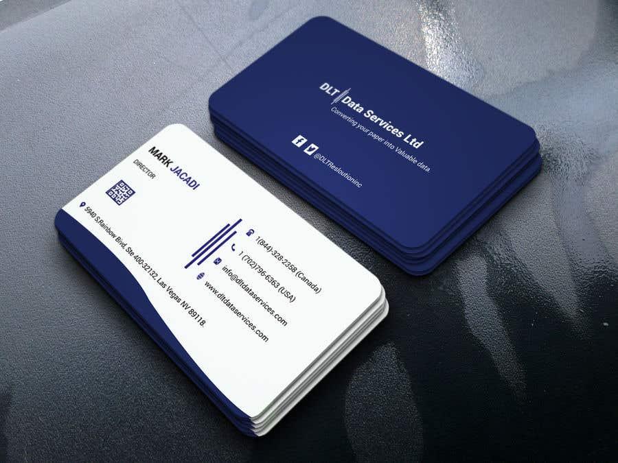 Kilpailutyö #520 kilpailussa Create business card
