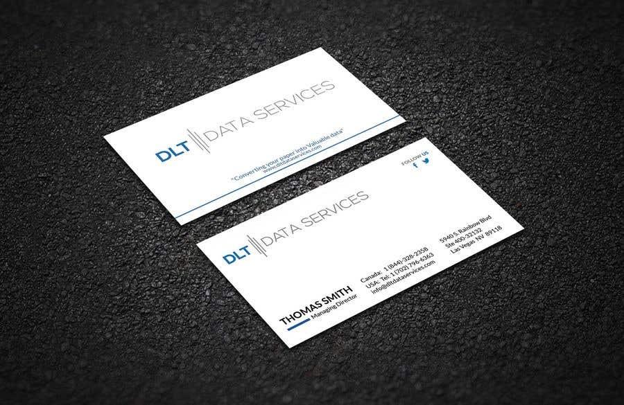 Kilpailutyö #458 kilpailussa Create business card