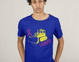 #49 for Beat Cancer shirt design af HashamRafiq2