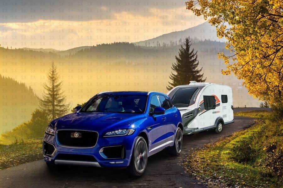 Penyertaan Peraduan #220 untuk Photoshop carvan on background image and change colour