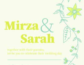 #131 para design of wedding invitations por andrewashraf03