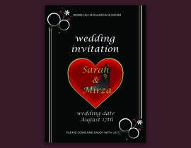 #122 para design of wedding invitations por nicesusomaakter
