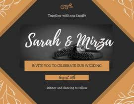 #132 for design of wedding invitations by SITINURFATIEN