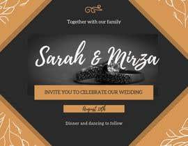 #132 para design of wedding invitations por SITINURFATIEN