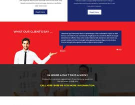 #11 for New home page design - modern layout by pardworker
