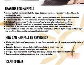 #23 for Poster design for wellcure - Heal Your Hair by tsanjeev6252