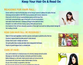 #3 for Poster design for wellcure - Heal Your Hair by shompamoni787