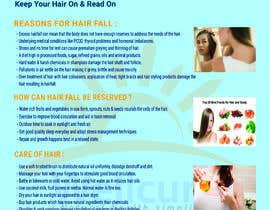 #16 for Poster design for wellcure - Heal Your Hair by shompamoni787