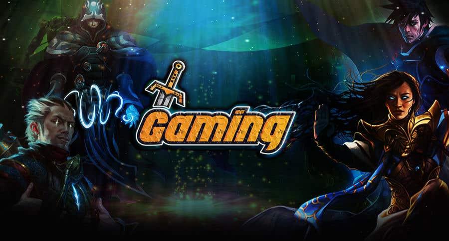 Penyertaan Peraduan #32 untuk Gaming web Background