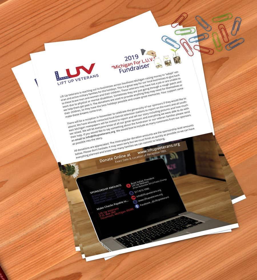 Bài tham dự cuộc thi #18 cho Need Fundraising Flyer Created