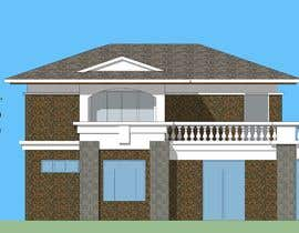 #36 for Draw colonial elevation for a floor plan by cyberlenstudio