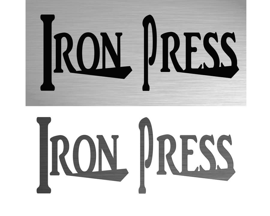 Konkurrenceindlæg #                                        139                                      for                                         Logo Design for IronPress