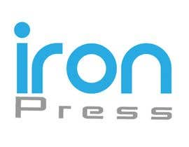 nº 14 pour Logo Design for IronPress par ikramniazi