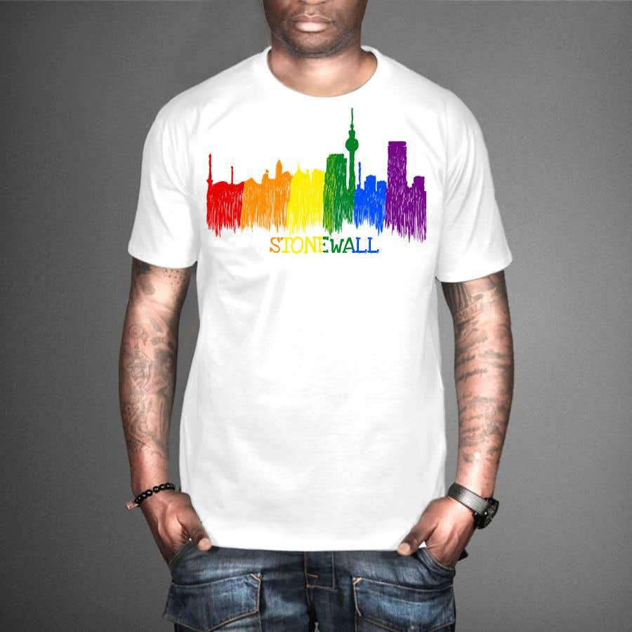 Contest Entry #24 for ATTENTION ARTISTS: Need a cool t shirt designed for a gay pride event