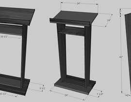 #5 for Make a sleek lectern design for me by rockstargamer