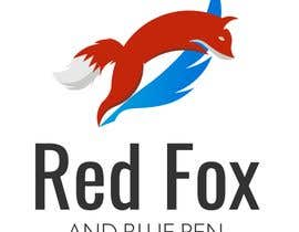 nº 3 pour MAKE A LOGO WITH A RED FOX AND A PEN par afo5888de786c67c
