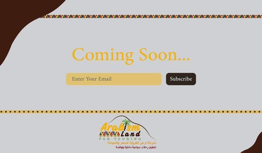 Bài tham dự cuộc thi #29 cho Landing Page Design ( Coming Soon)