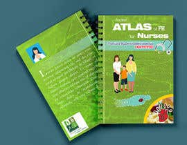 nº 72 pour Book Cover for Nurses Pocket Atlas par OndinaLeon