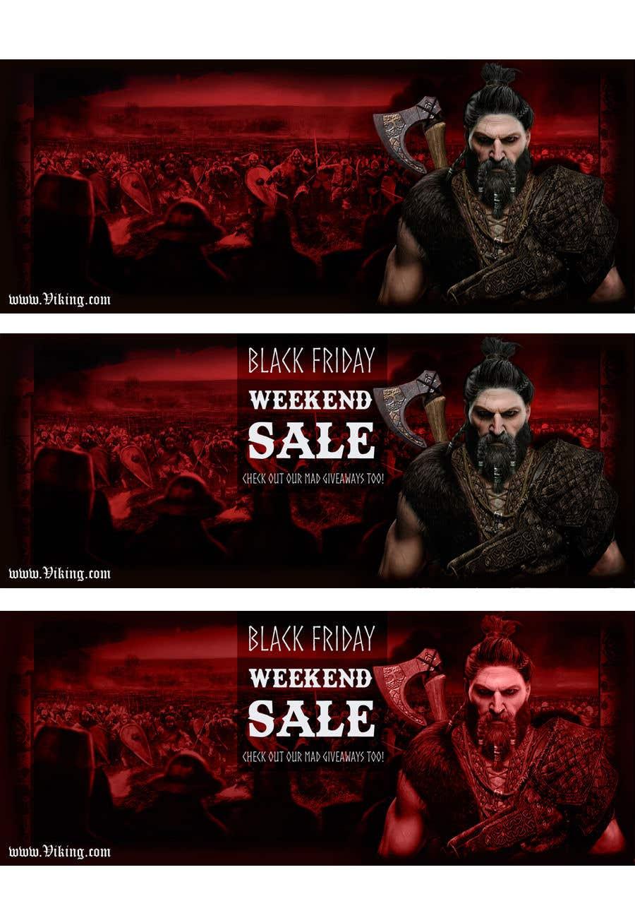 Proposition n°204 du concours Viking Banner (Facebook&Website)
