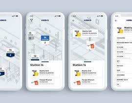 #245 для Mockup an aerospace app for Airbus! от blackdahlia24