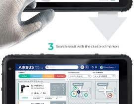 #237 для Mockup an aerospace app for Airbus! от uvarovkv