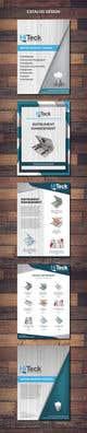 Миниатюра конкурсной заявки №15 для Design Catalog Page template