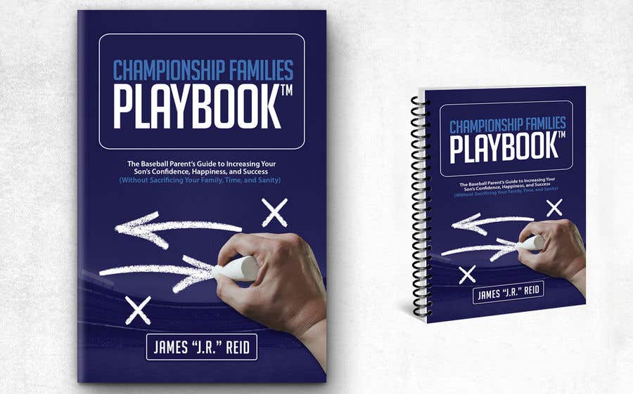 Konkurrenceindlæg #54 for Book mockup for the Championship Families Playbook™