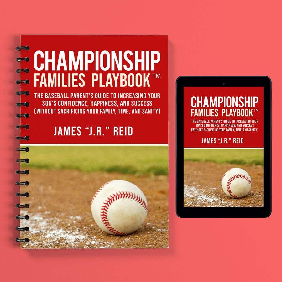 Penyertaan Peraduan #28 untuk Book mockup for the Championship Families Playbook™