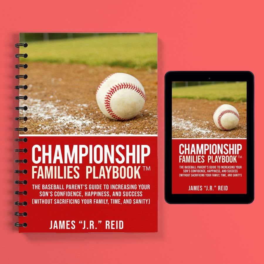 Penyertaan Peraduan #29 untuk Book mockup for the Championship Families Playbook™