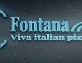 """#14 cho """"fontana viva italian pizza bistro"""" is restutant name, i want to make led gkoe sign board, for that you havr to design some illustration/design (fontana viva is name of my restutant) bởi hichamo0s"""