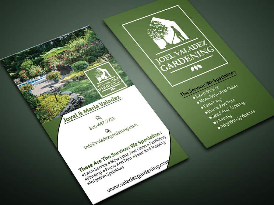 Proposition n°122 du concours Revamp Business Card for Landscaping/Gardening Service Provider