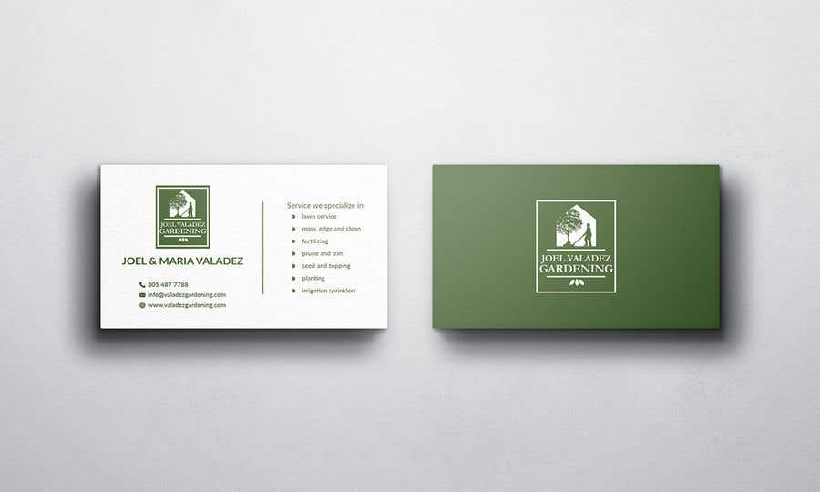 Proposition n°56 du concours Revamp Business Card for Landscaping/Gardening Service Provider