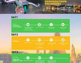 #12 cho One page multi day package itineary design HTML -100% responsive bởi saidesigner87
