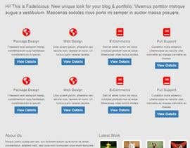 #11 for Responsive website 8 -10 pages by sobbogoon