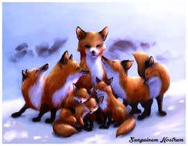 nº 168 pour Draw me a Fox par felixhadi