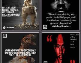 #56 untuk Motivational quotes design oleh syedsumon555