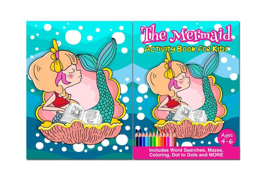 Penyertaan Peraduan #25 untuk Mermaid Activity Book Cover (Ages 4-6)