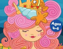 Dineshdsnr tarafından Mermaid Activity Book Cover (Ages 4-6) için no 22