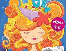 #54 for Mermaid Activity Book Cover (Ages 4-6) by Dineshdsnr
