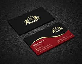 #198 для I need someone that can design the front and back of a very modern and sleek business card for a full stack developer looking to land the job of his dreams. The business card must be very stylish and impressive at first sight. от Uttamkumar01