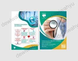 #1 cho Brochure design: unique, half fold for digital healthcare company bởi dewiwahyu