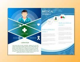 #5 cho Brochure design: unique, half fold for digital healthcare company bởi rimadahmed99