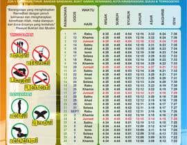 #5 untuk Ramadan calendar design oleh NurAnna
