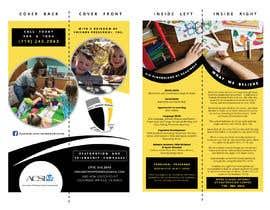 #28 for Create an eye catching pamphlet for a preschool af amirakarmila