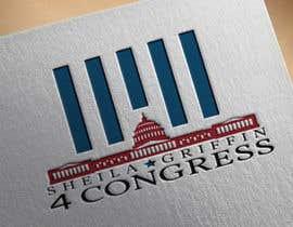 Nro 36 kilpailuun Congress Campaign Logo käyttäjältä nasrawi