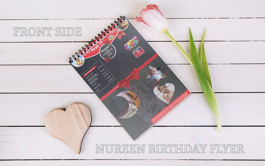 Bài tham dự cuộc thi #13 cho Make a Food Menue for Nureen Birthday