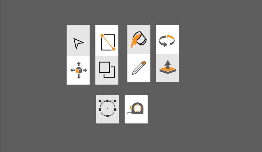 Contest Entry #6 for Create 10 icons with same concepts but different design