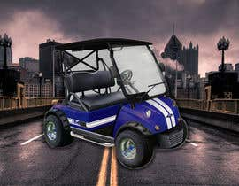 nº 27 pour Photoshop headlights into golf cart par saimun57