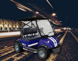 nº 28 pour Photoshop headlights into golf cart par saimun57